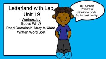 Letterland Powerpoint Guides Grade 1-Unit 19 (Mr. E and Mr. E)