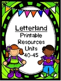 Letterland Resource Pack: Units 40-45