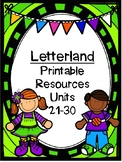 Letterland Resource Pack First Grade: Units 21-30