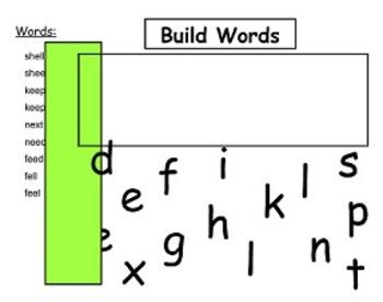 Letterland Smart File Unit 19 - ee and e_e (long e)