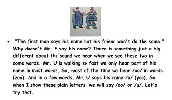 Letterland Unit 25 - Mr. U and Friends (ue, ew, ui)