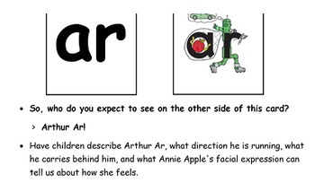 Letterland Unit 29 - Arthur AR and Orvil OR