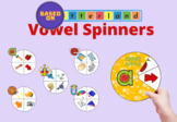 Letterland Vowel Spinners