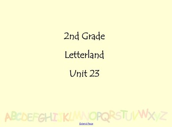 Letterland in Second Grade (Unit 23)