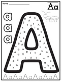 Alphabet Letters Practice Pages: Letter Hunt