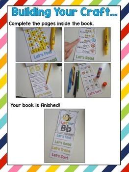Alphabet Letters Flip Books