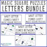 Letter Literacy Center Games