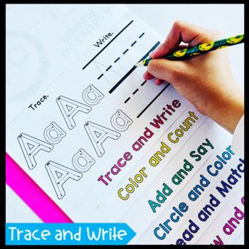 Alphabet Flip Books BUNDLE (Alphabet Interactive Notebook Activities)