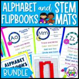 Letter Recognition Activities BUNDLE (Alphabet Flip Books)