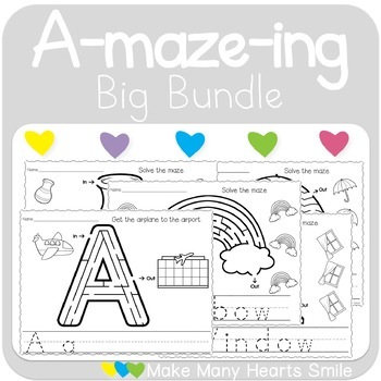 Easy 10: The Letters Bundle