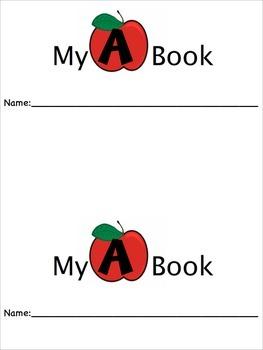 Letters A-E Beginning Reader Books