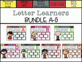 Letter Learners: A-G Bundle *Save $*