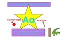 Letters A & M intro SmartBoard activities