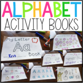 A-Z Alphabet Activity Books