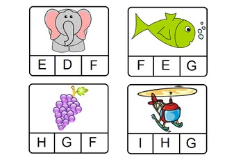 Letters A-Z Beginning Sounds