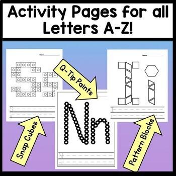 Letters A-Z Bundle {26 Combined Files!}