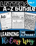 Letters A-Z Bundle: Learning the Alphabet the Easy Way