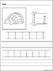 Letters A-Z Handwriting Worksheets Free