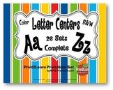 A-Z Letters Centers {26 Centers}