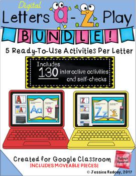 Letters A-Z Play Bundle