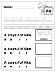 Letters A-Z Review Bundle