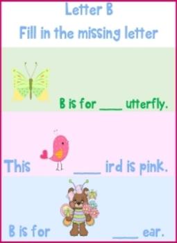 Letters A and B Bundle  - © Love Letters - A Phonics/Reading Program