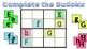 Letters A to Z Sudoku Interactive Google Drive