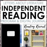 Digital Independent Reading Program & Journal for Grades 6-8