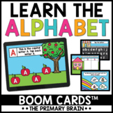 Letters Alphabet Boom Cards™ | Digital Task Cards | Distan