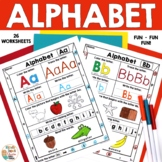 Letters - Alphabet printables (A to Z)