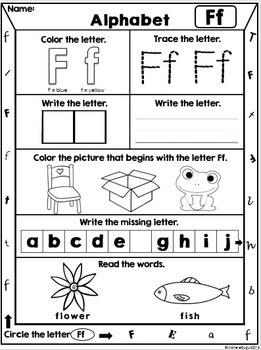 Letters - Alphabet printables (A to Z)