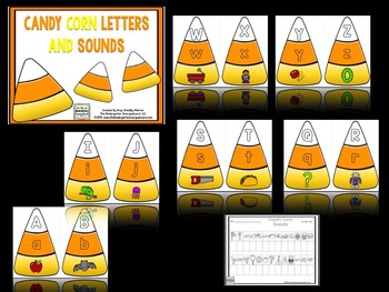 Candy Corn Letters And Sounds!