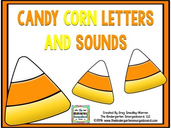 Letters And Sounds!  Candy Corn Letters And Sounds!