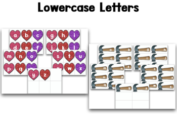 Letters And Sounds:  Heartbreakers!  A Valentine's Letters And Sounds Game!