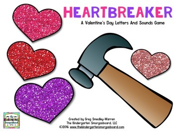 Letters And Sounds:  Heartbreakers!  A Valentine's Letters