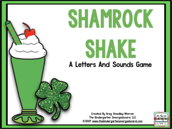 Letters And Sounds Shamrock Shake!  A St. Patrick's Day Le