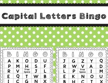 Letters Bingo Bundle