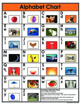 Letters, Blends, and Chunks Full Color Student Chart Set + 3 phonics Lessons