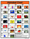 Letters, Blends, and Chunks Full Color Student Chart Set +