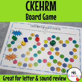 Letters CKEHRM Board Game