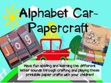 Letters Car-papercraft