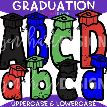 Letters Clip Art - Graduation Letters {jen hart Clip Art}