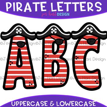 Letters Clip Art - Pirate Letters {jen hart Clip Art}