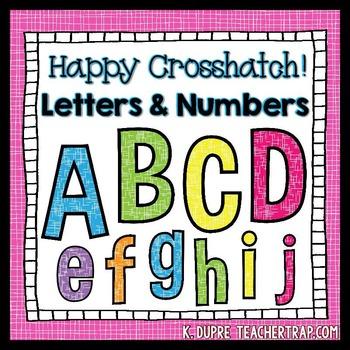 Letters Clip Art Set
