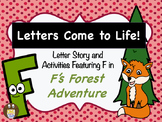 Letters Come to Life: Letter Story & Activities featuring
