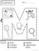 A to Z- Cut and Paste Language Development Activities