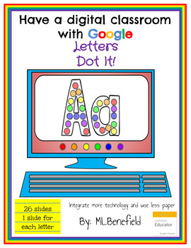 Letters -Dot It! (in Google: Digital and Interactive)