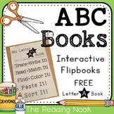 FREE Interactive Alphabet Flip Book A