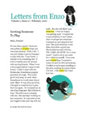 Letters From Enzo Volume 1, Issue 3 Inviting Someone to Play
