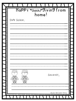 Letters From Home--Templates for letters to military